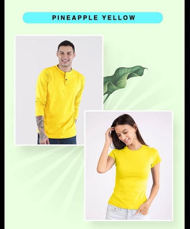 Pineapple Yellow T-Shirts - Bewakoof.com