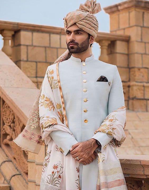 Blue Mehendi Outfit - Mehendi Dress for Groom - Bewakoof Blog