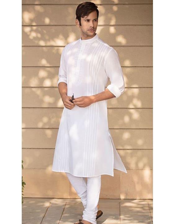 White Mehendi Outfit - Mehendi Dress for Groom - Bewakoof Blog
