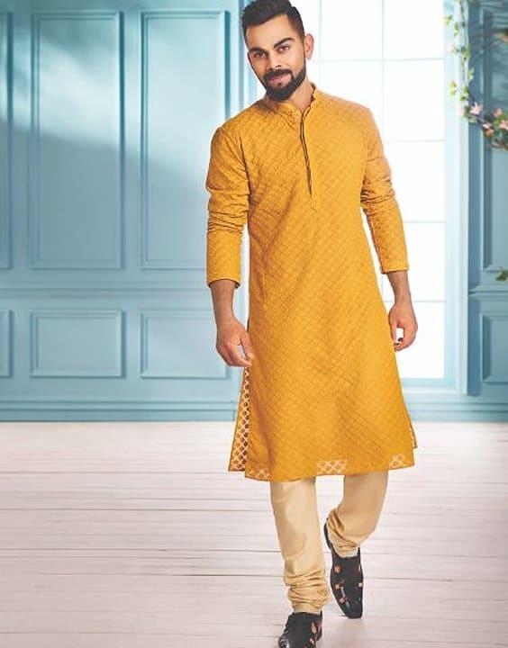 Mustard Yellow Mehendi Outfit - Mehendi Dress for Groom - Bewakoof Blog