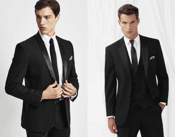Black tie outfits - Wedding Dress for Men - Bewakoof Blog