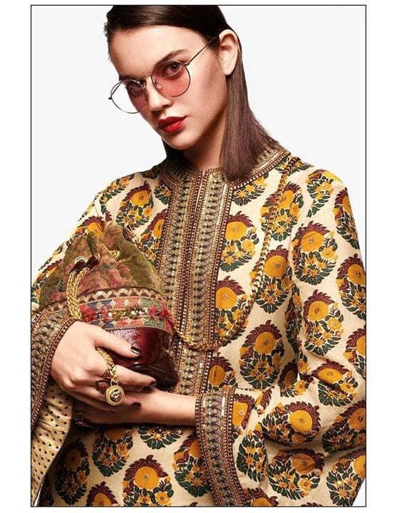 Hand-Blocked Florals - Dress for Haldi Function - Bewakoof Blog