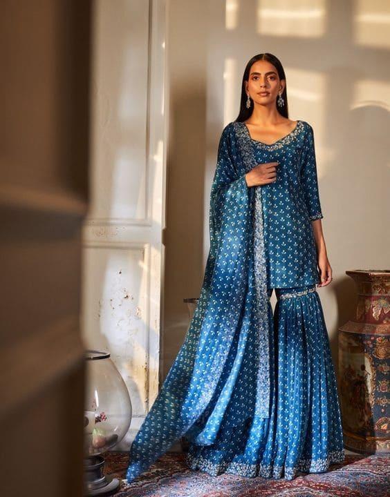 Vibe With The Indigo Mood - Dress for Haldi Function - Bewakoof Blog