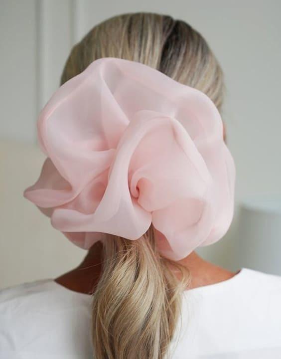 The Oversized Scrunchie - Hair Accessories for Girls - Bewakoof Blog