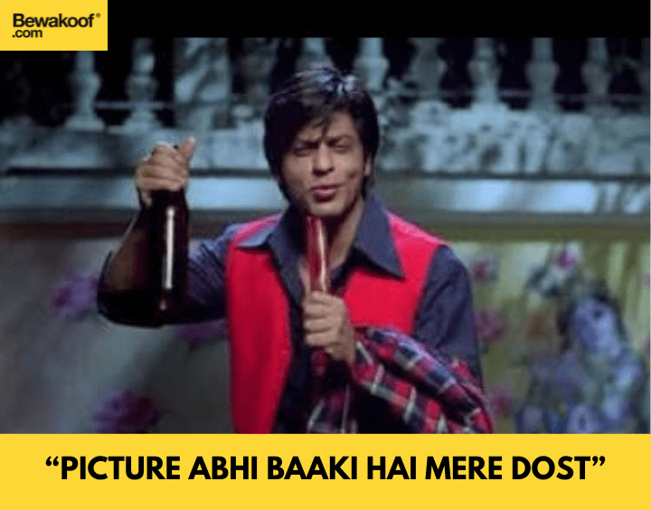 Picture abhi baaki hai mere dost - famous bollywood dialogues