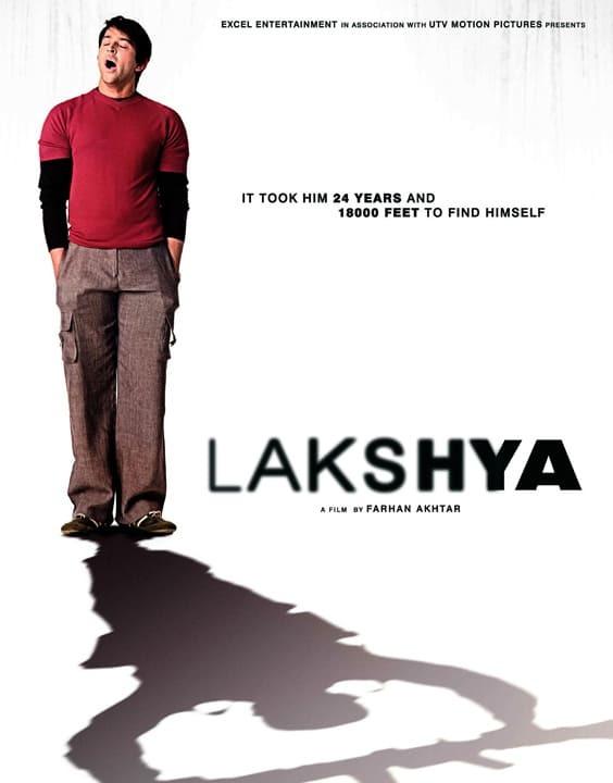 Lakshya, 2004 - Motivational Bollywood Movies - Bewakoof Blog