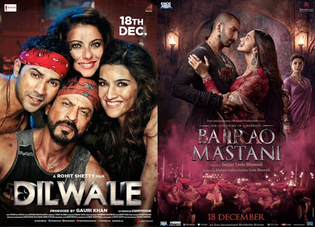 Dilwale vs bajirao mastani the clash of the titans
