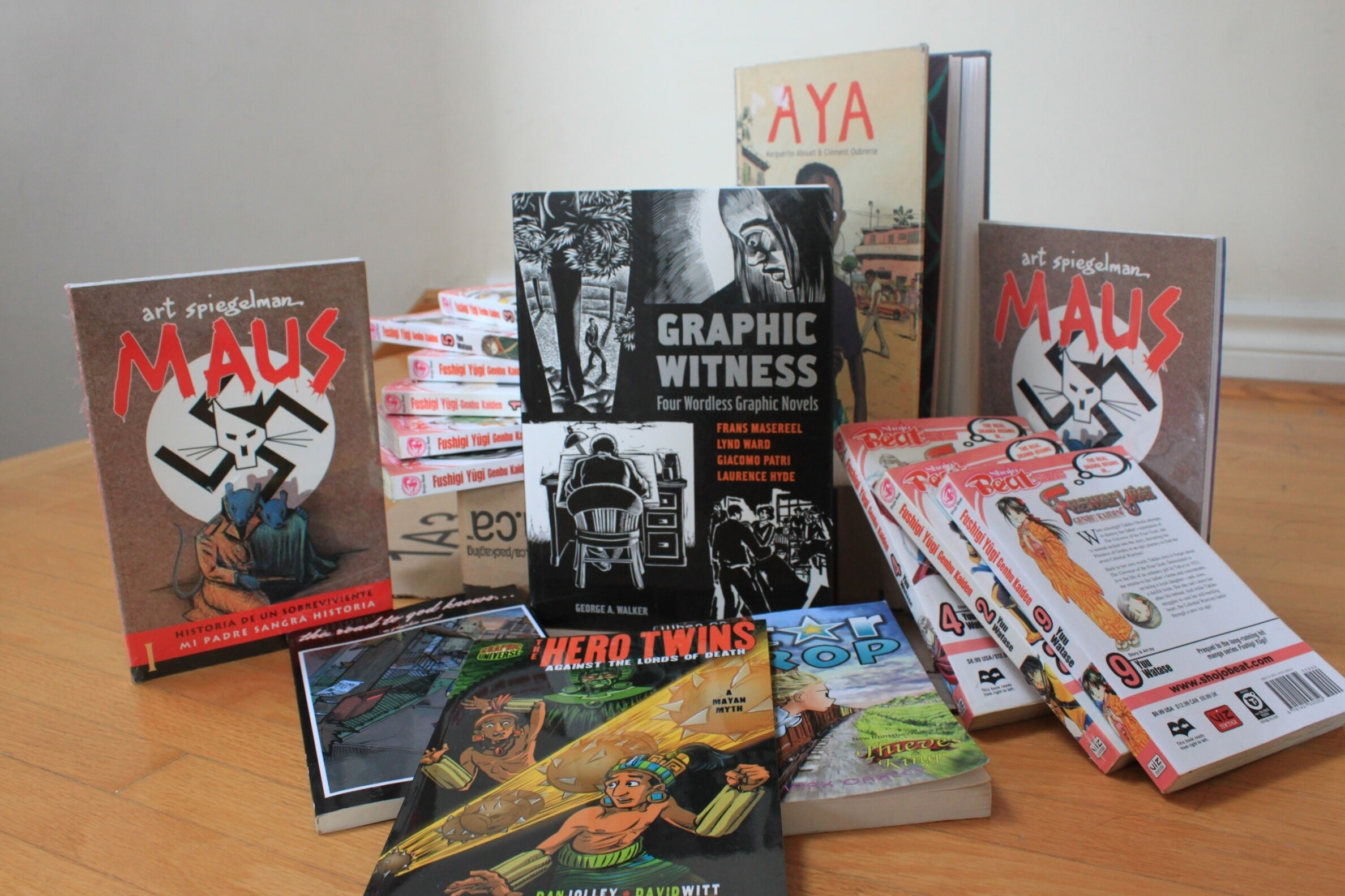Looking for new books 9 graphic novels you must read