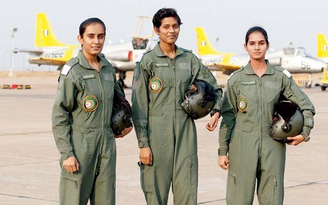 Making history indian air force gets its first women fighter pilots today