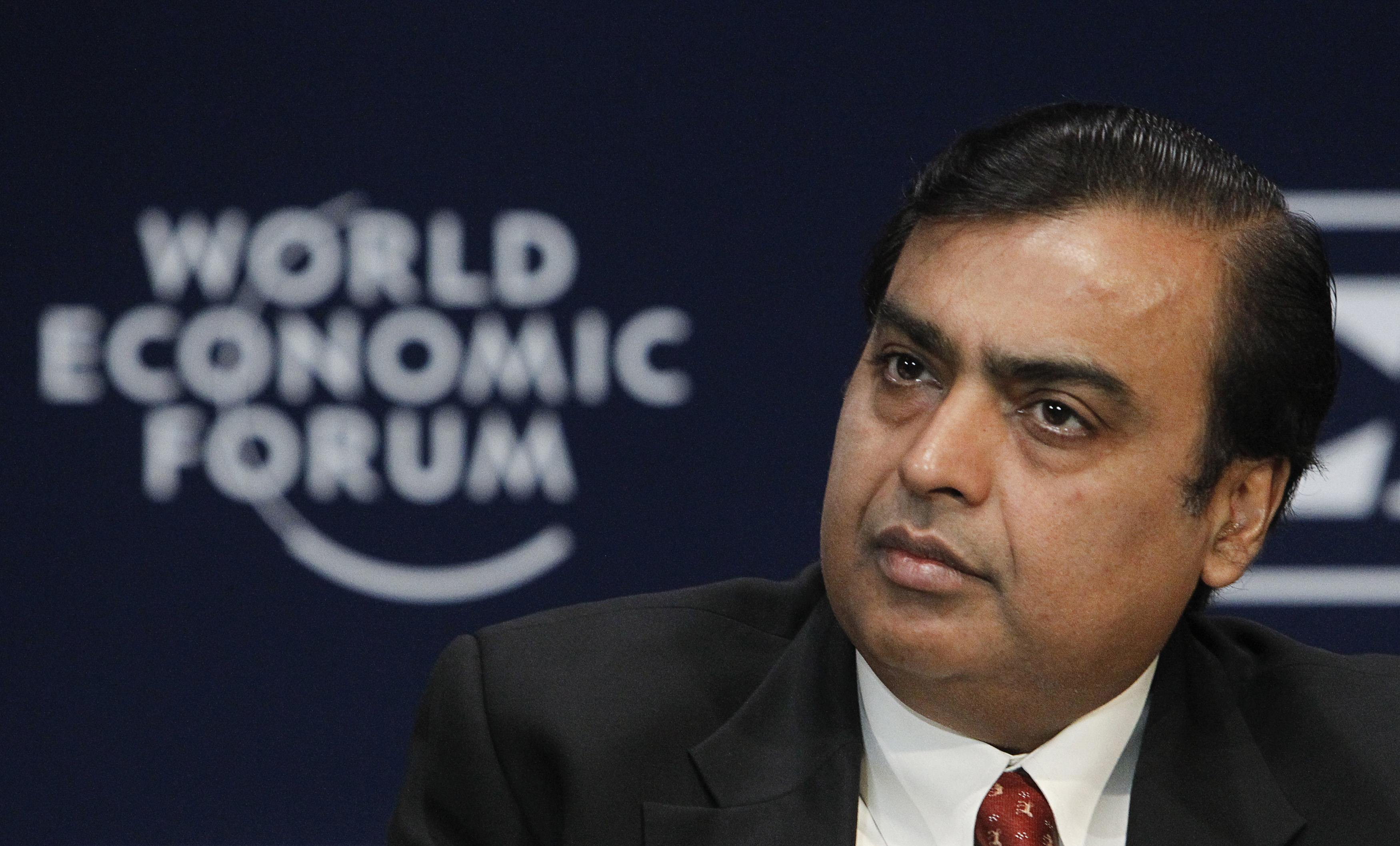 Mukesh ambani 36th richest person on the planet according to forbes