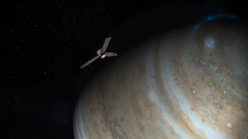 Oh its finally there nasas juno enters jupiters orbit after five long years