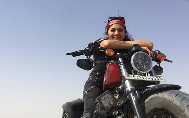 Rip veenu paliwal 7 things about the indian female biker youd love to know