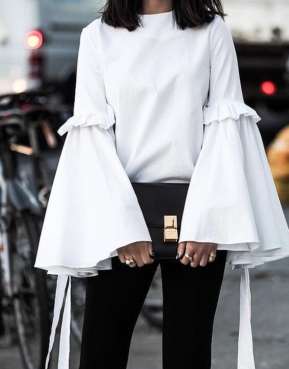 modern bell sleeve