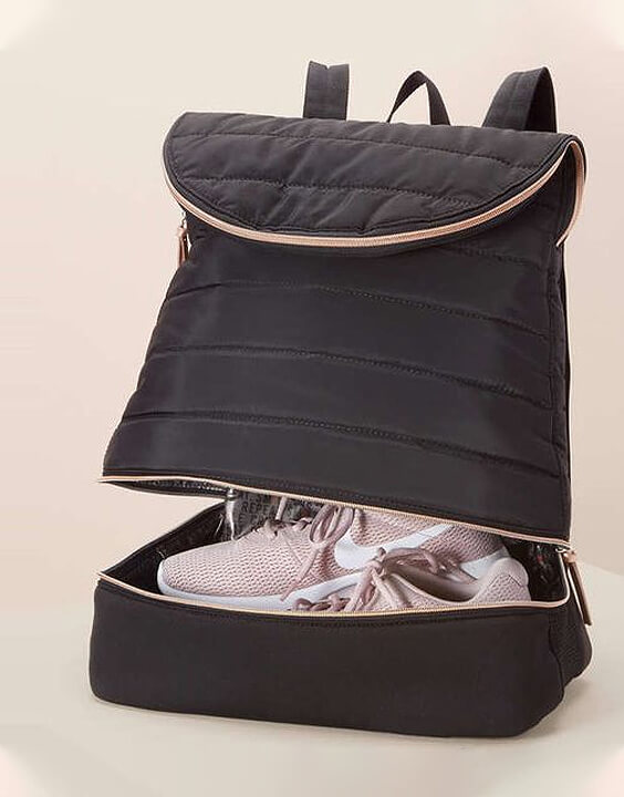 Compartmentalized Gym Bags