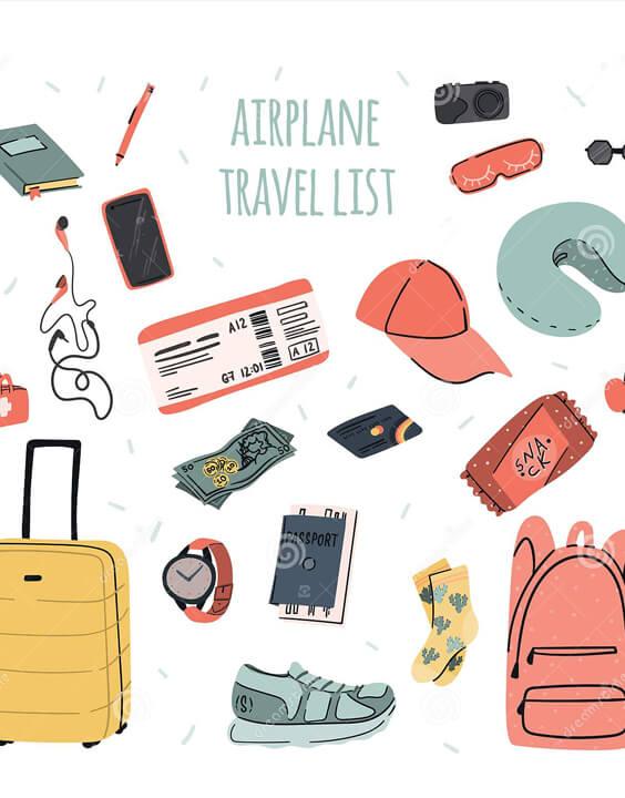 Airplane Travel Checklist | Travel Checklist - Bewakoof Blog