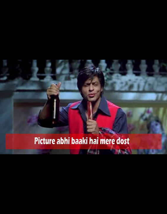 famous bollywood dialogues Picture abhi baaki hai mere dost.