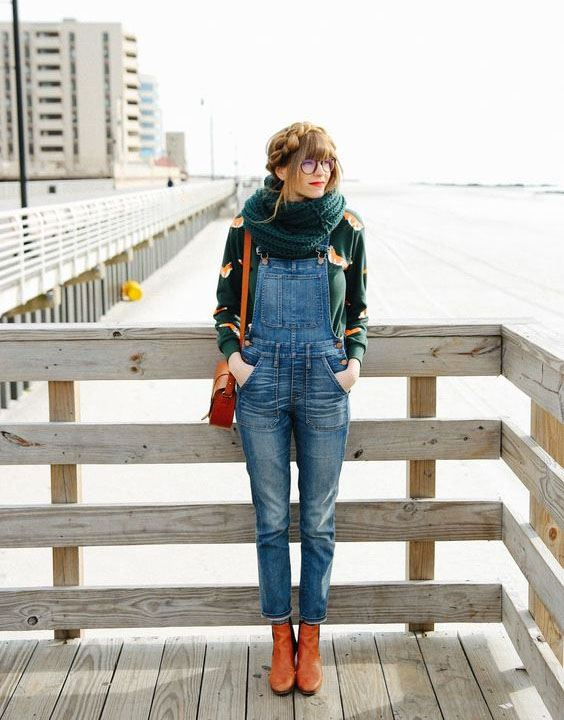 Overalls - Types of Jeans for Girls