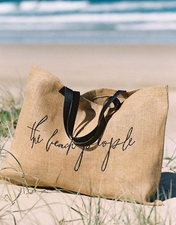 Jute Bags - how to style different types of bikini | Bewakoof Blog