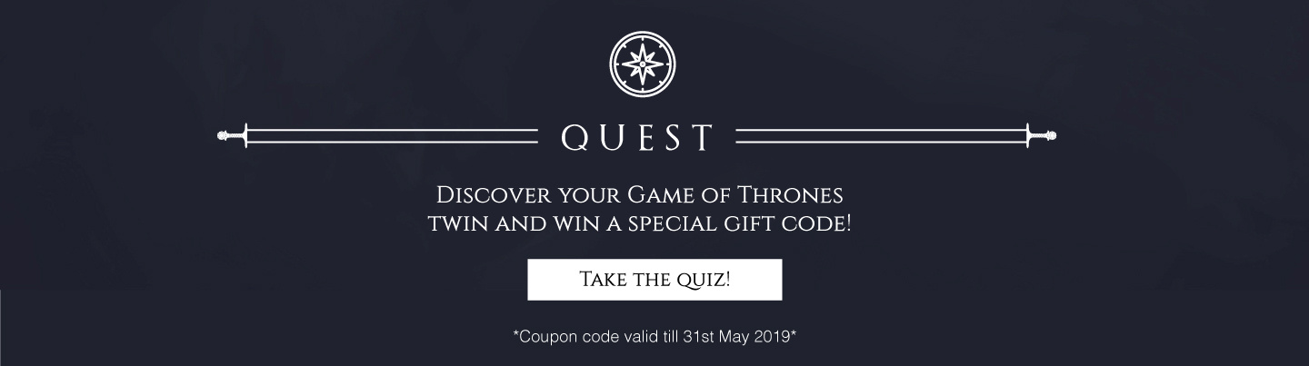 Quest - Game Of Thrones | Bewakoof.com