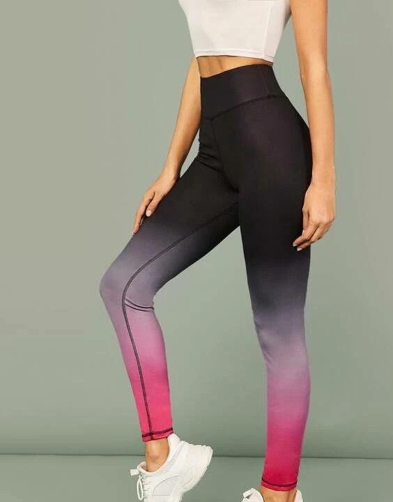 ombre leggings | types of leggings - Bewakoof Blog