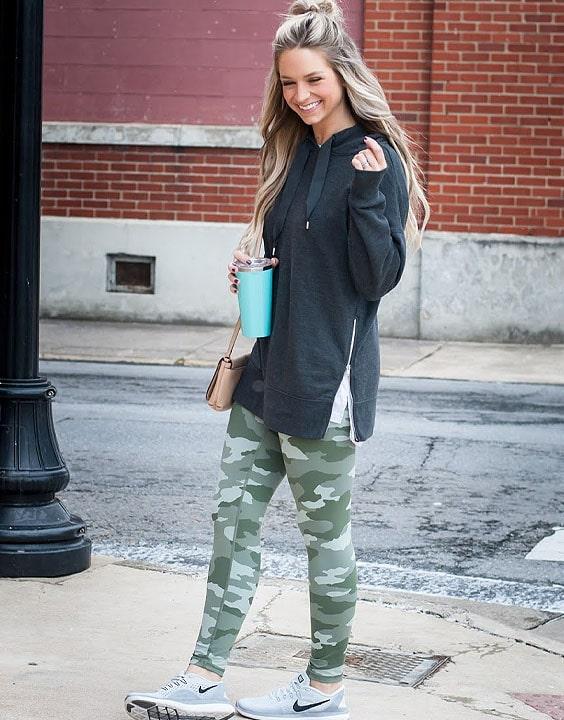 camo leggings styling - Bewakoof Blog